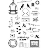 Hero Arts Clear Stamps 4 inch X6 inch Love Notes