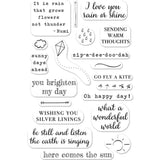 Hero Arts Clear Stamps 4 inch X6 inch Rain Or Shine