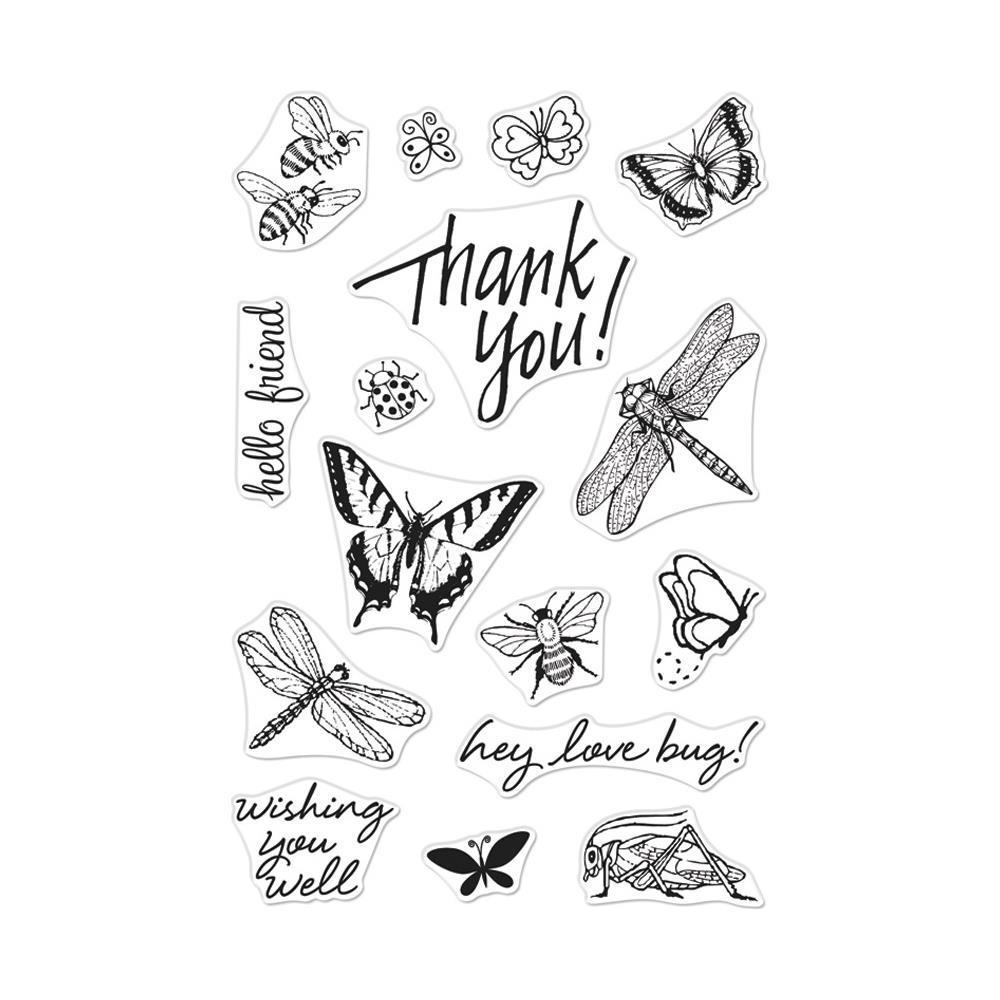 Hero Arts From The Vault Clear Stamp 4x6 inch - Bugs