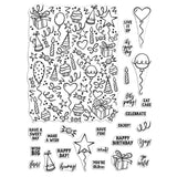 Hero Arts Clear Stamps 4in x 6in - Wish Big Peek-A-Boo Parts