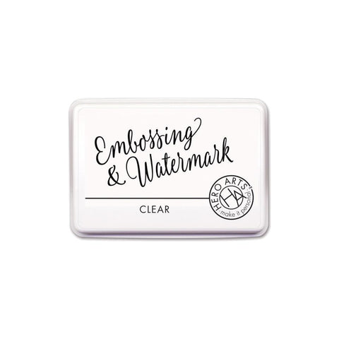 Hero Arts Embossing & Watermark Ink Pad - Clear