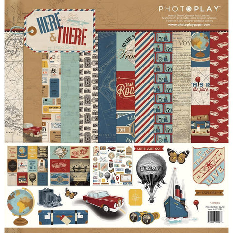 PhotoPlay Collection Pack 12x12inch - Here & There