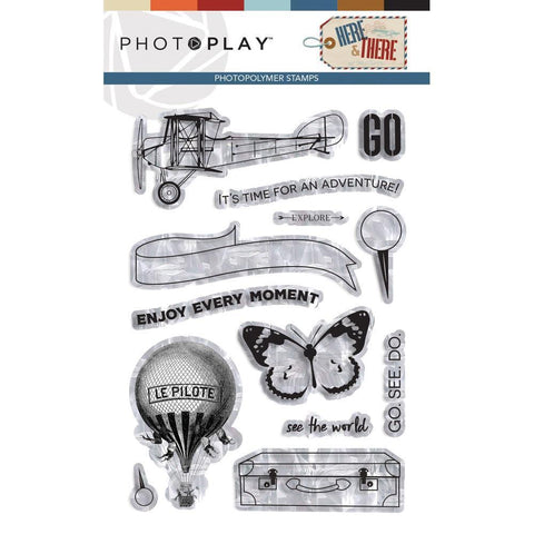 PhotoPlay Photopolymer Stamp - Here & There