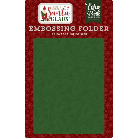 Echo Park - Embossing Folder A2 - Deck The Halls