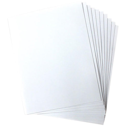 Heartfelt Creations - Art Foam Paper 8.5x11 inch - White 10 Pk