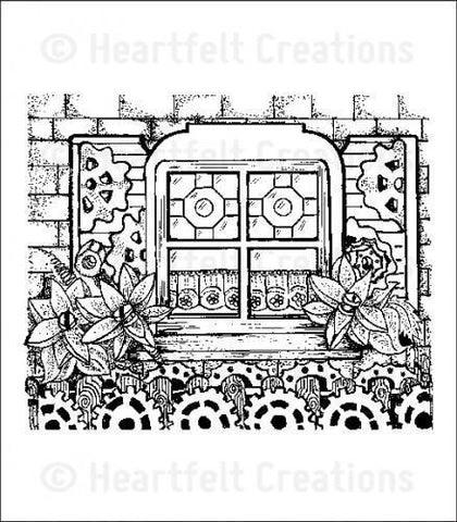 Heartfelt Creations All Geared Up Stamp Set - All Geared Up Background *