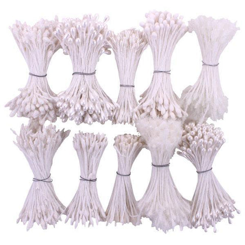 Heartfelt Creations - Bridal Bouquet Stamens 10 pack 1 & 5mmx2.25