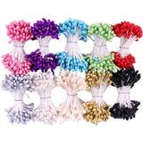 Heartfelt Creations Pearl Stamens Medium 5mmX2.25 inch 10 pack Assorted