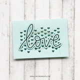 Concord & 9th Clear Stamps 6x6 inch - Heart Turnabout