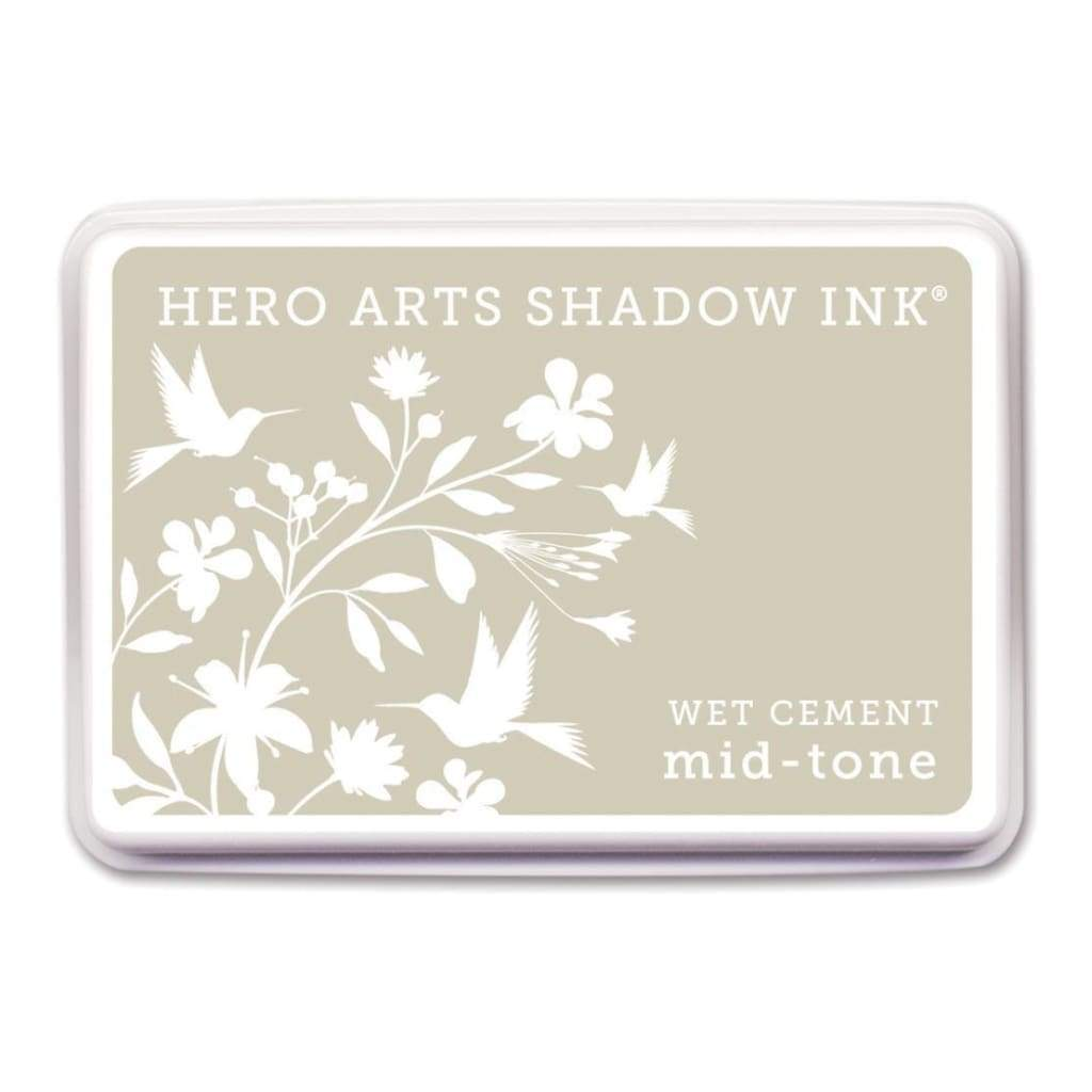 Hero Arts Midtone Shadow Ink Pad - Wet Cement