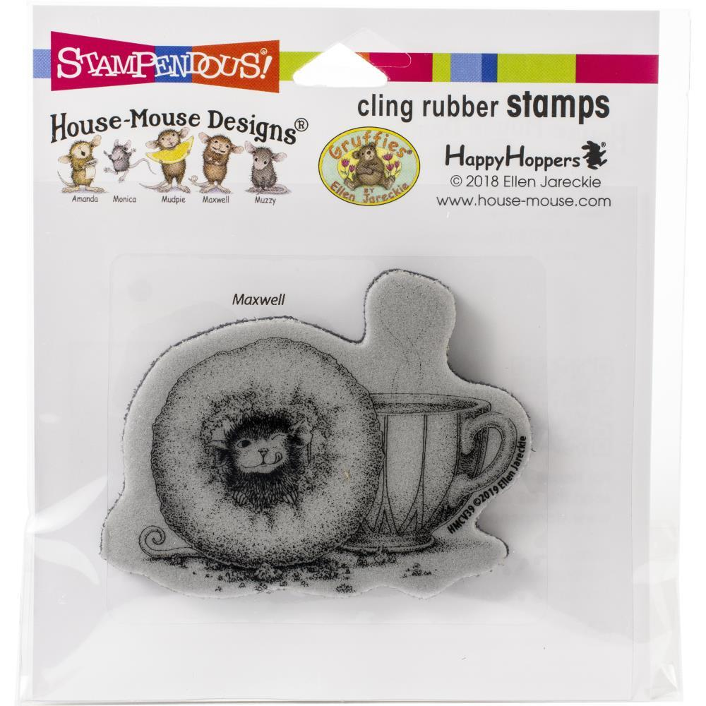Stampendous House Mouse Cling Stamp - Donut Day