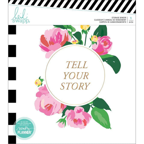 Heidi Swapp Memory Planner Storage Binder - Fresh Start