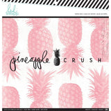 Heidi Swapp Single-Sided Paper Pad 12 inch X12 inch 36 pack - Pineapple Crush
