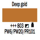 Talens Amsterdam Acrylic Ink 30ml - DEEP GOLD - 803