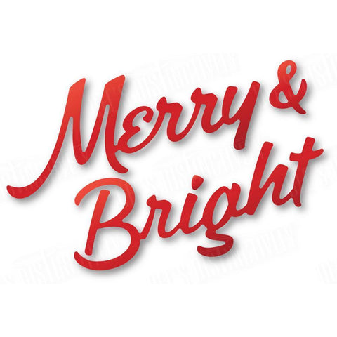 Dees Distinctively Dies - Merry & Bright