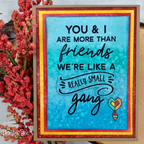Honey Bee 3x4 inch Stamp Set - Friends Like You