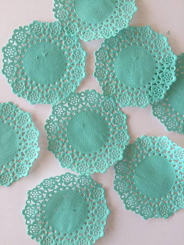 Doodlebug Doilies 4.5 inch - Swimming Pool 75 Pk