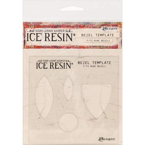 Ice Resin Rune Bezel Template