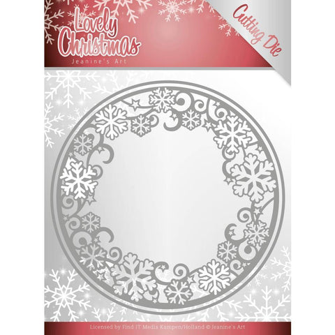 Find It Trading - Jeanines Art Die - Circle Frame, Lovely Christmas