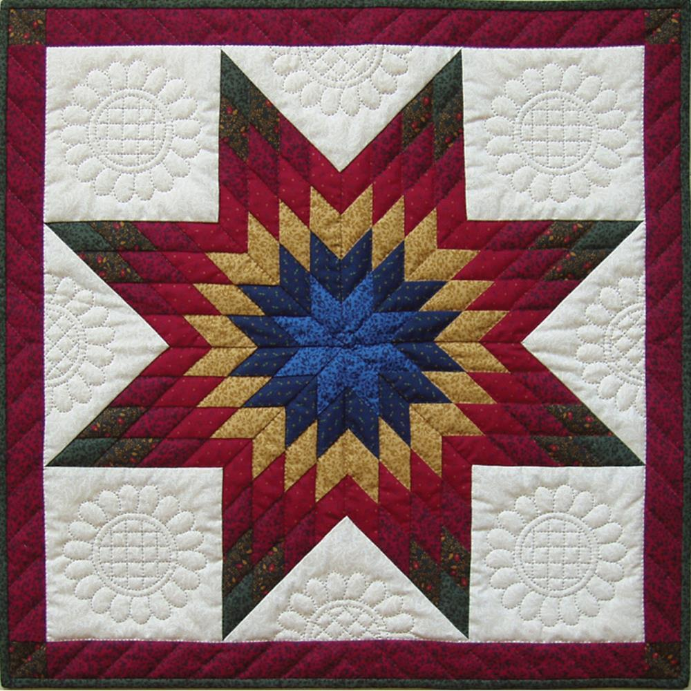Rachels Of Greenfield - Wall Quilt Kit 22 inch X22 inch - Lone Star