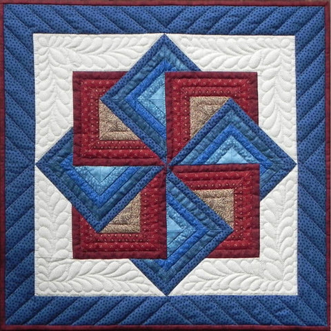 Rachels Of Greenfield - Wall Quilt Kit 22 inch X22 inch - Starspin