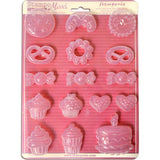 Stamperia Soft Maxi Mold 8.5x11.5 inch - Cookies