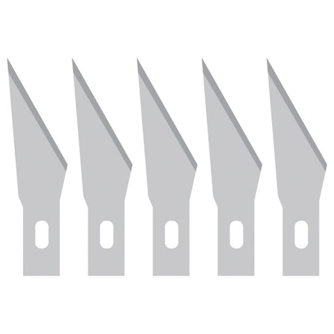 Crafters Companion Craft Knife Replacement Blades 5 pack For #615011