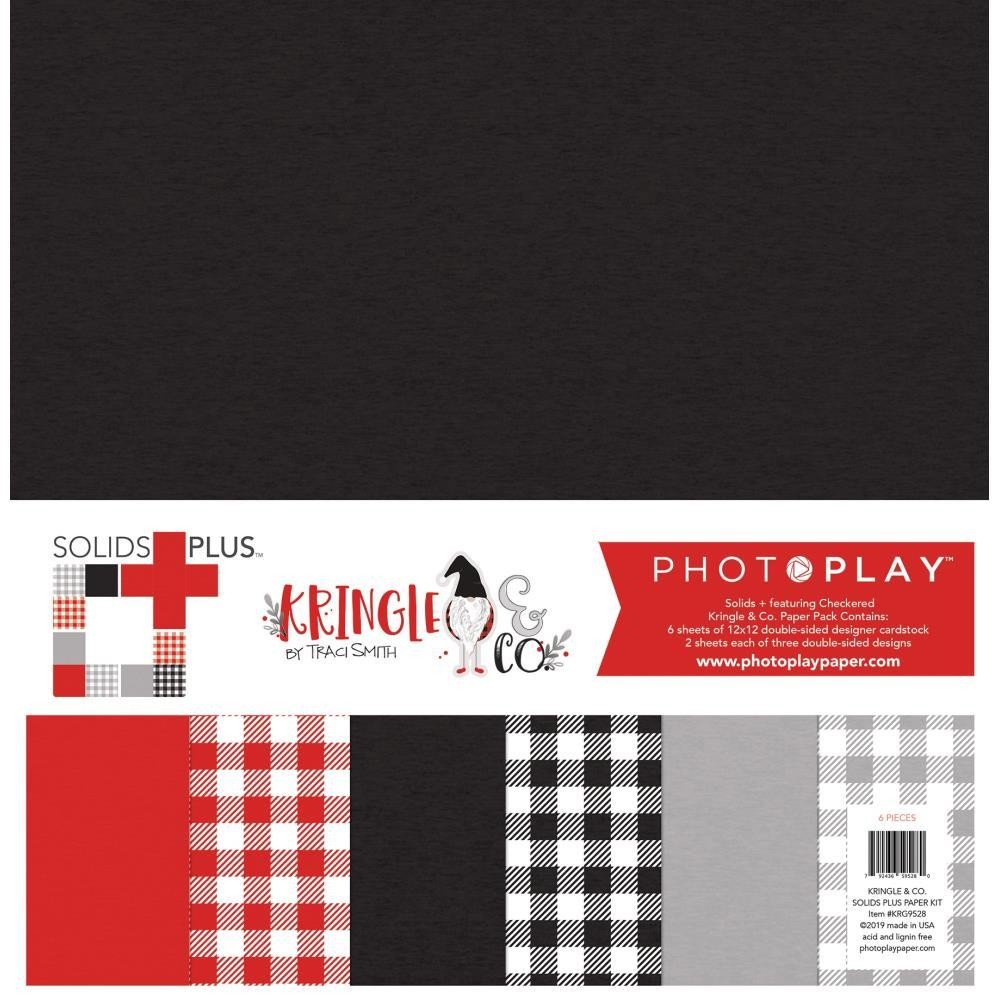 PhotoPlay Collection Pack 12x12 inch, Solids Plus - Kringle & Co