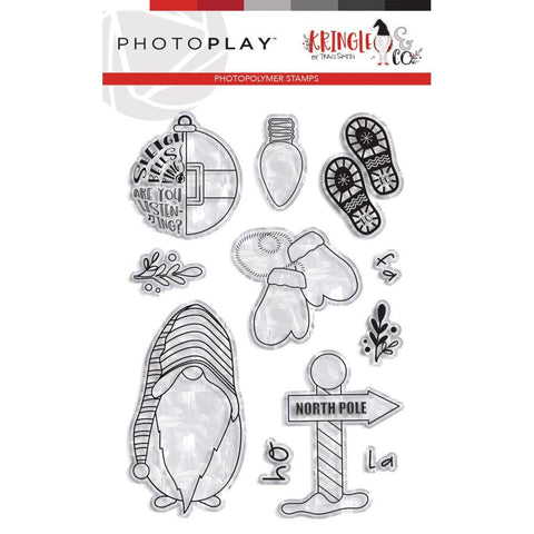 PhotoPlay Photopolymer Stamp - North Pole, Kringle & Co
