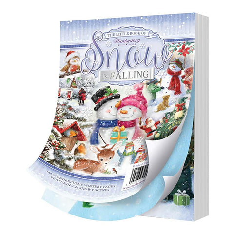 Hunkydory The Little Book Of A6 Paper Pad 144 pack - Snow Is Falling, 24 Designs/6 Each