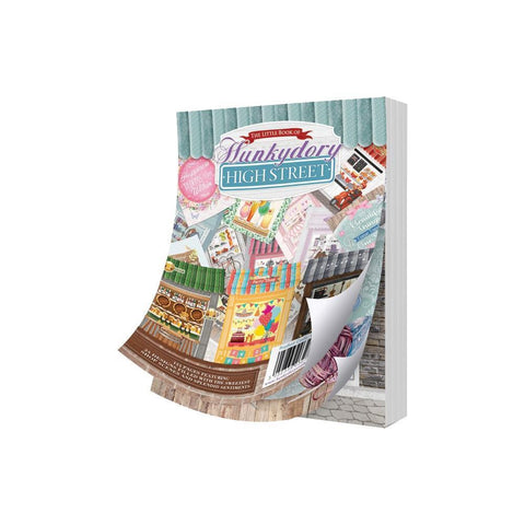 Hunkydory The Little Book Of A6 Paper Pad 144 pack High Street, 24 Designs/6 Each