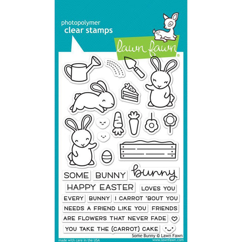 Lawn Fawn Clear Stamps 4x6 inch - Some Bunny