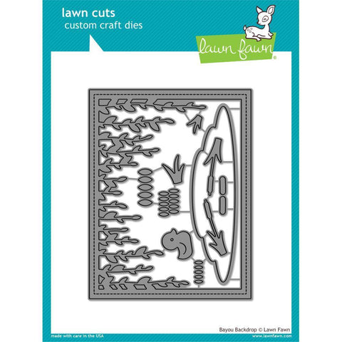 Lawn Cuts Custom Craft Die - Bayou Backdrop