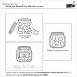 Lawn Fawn Clear Stamps 3x2 inch - How You Bean? Stars