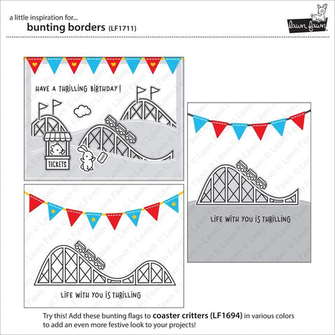 Lawn Cuts Custom Craft Die - Bunting Borders