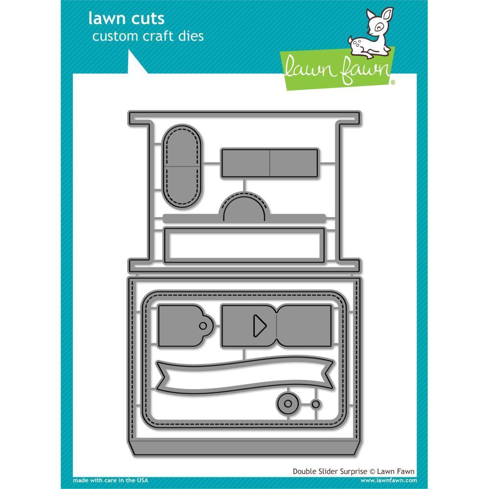 Lawn Cuts Custom Craft Die - Double Slider Surprise