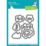 Lawn Cuts - Custom Craft Die - How You Bean? Christmas Cookie Add-On
