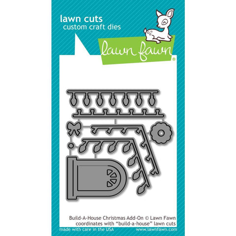Lawn Cuts - Custom Craft Die - Build-A-House Christmas Add-On