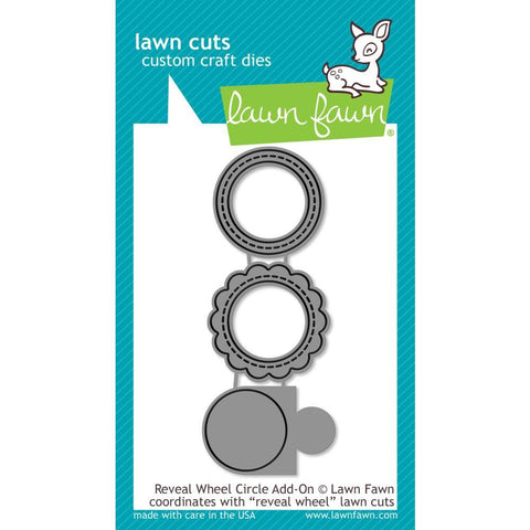 Lawn Cuts - Custom Craft Die - Reveal Wheel Circle Add-On