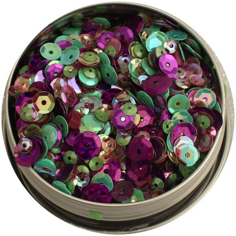28 Lilac Lane Tin with Sequins 40g - Violet Blossom