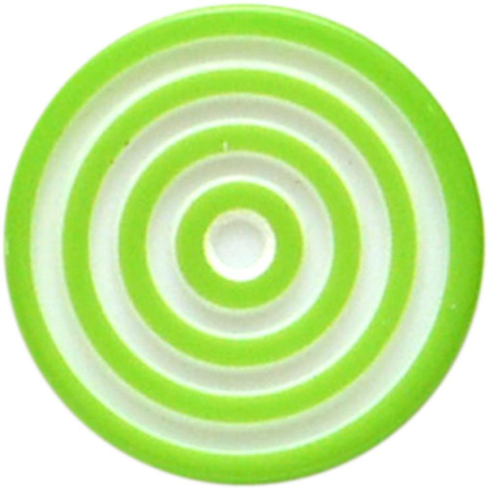 Queen & Co Lollies Self-Adhesive Embellishments 12 pack - Green