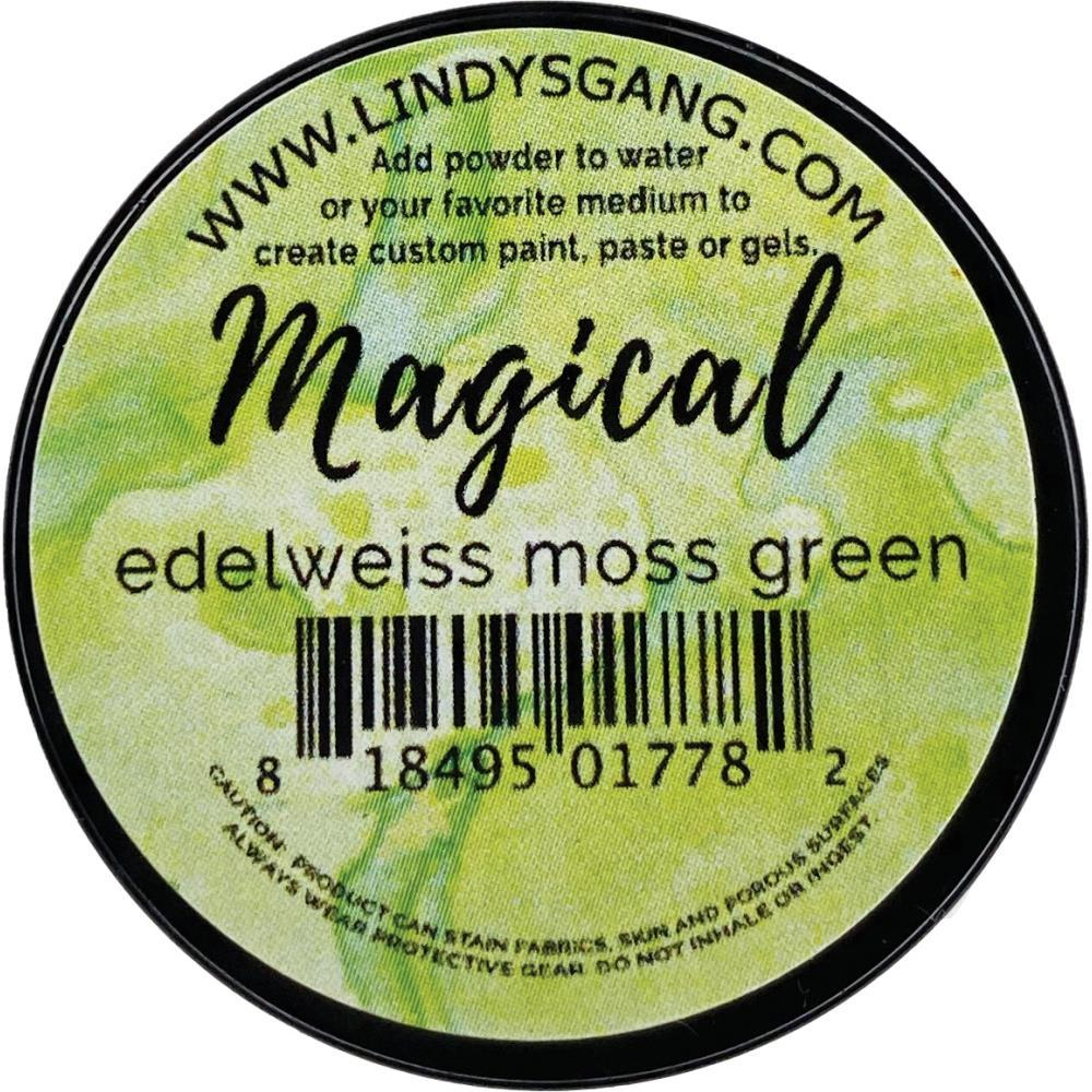 Lindys Stamp Gang Magicals 0.25oz Jar - Edelweiss Moss Green