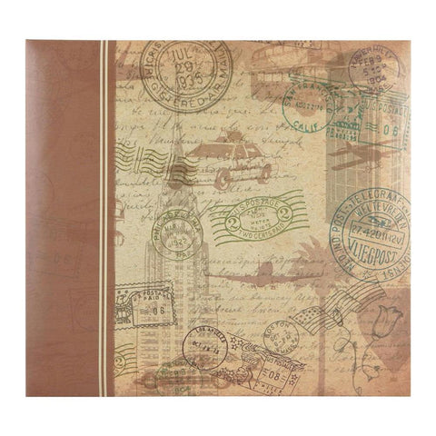 MBI - Postmark Travel Post Bound Album 12x12