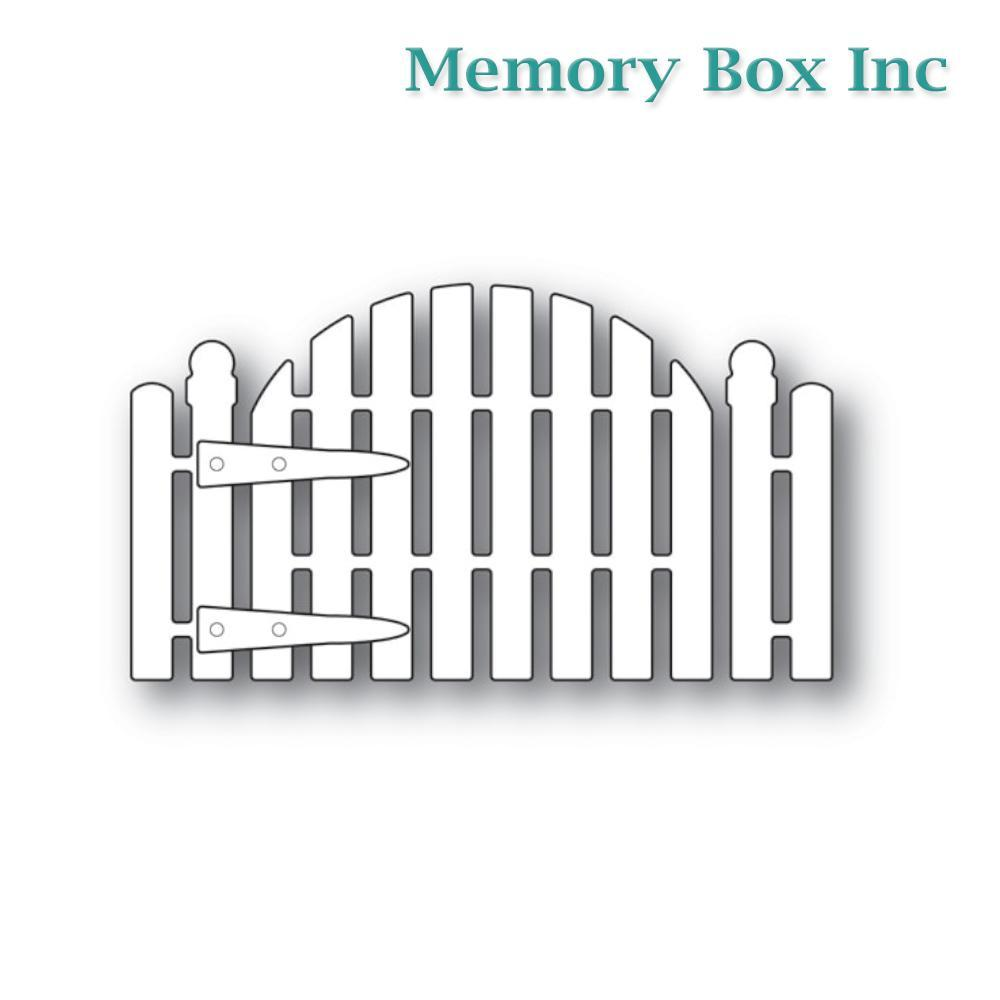 Memory Box - Cottage Garden Gate craft die