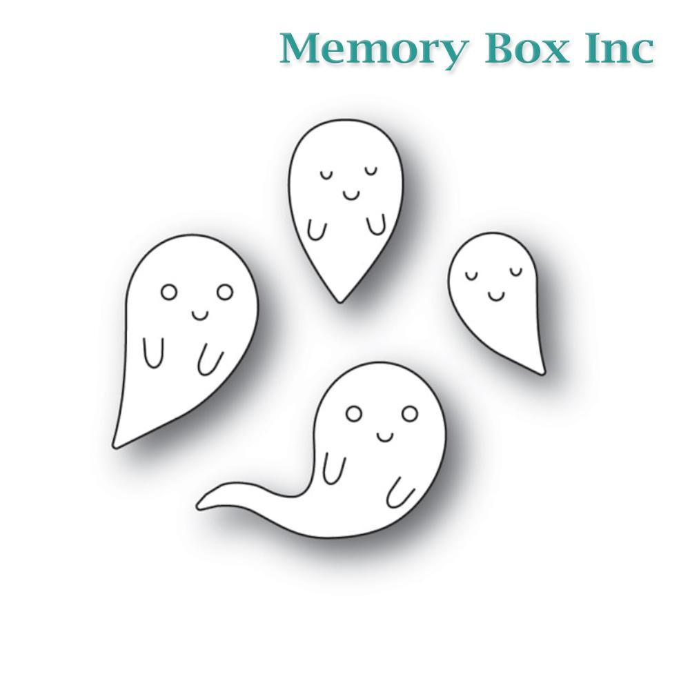 Memory Box - Friendly Ghosts craft die