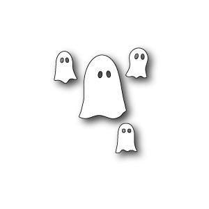 Poppystamps Dies - Group Of Ghosts