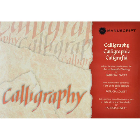 Manuscript Calligraphy Manual Letter-By-Letter Introduction