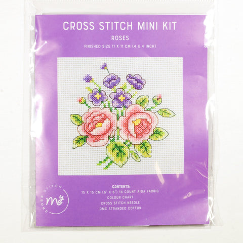 DMC Cross Stitch Kit - Roses
