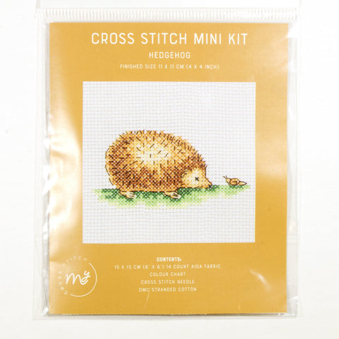 DMC Cross Stitch Kit - Hedgehog