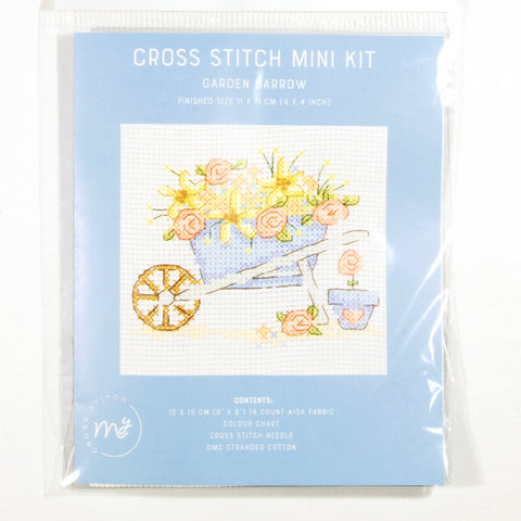 DMC Cross Stitch Kit - Garden Barrow